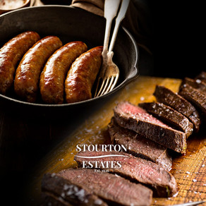 New Venison steaks and sausages at Tealby Village Shop.