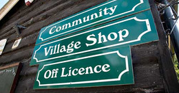 Tealby Shop, Tealby - sign