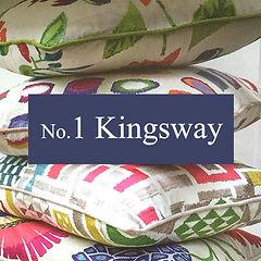 Some cushions at No.1 Kingsway, Tealby