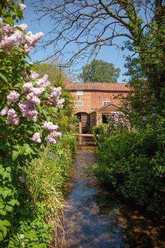 An old mill down Thorpe Lane, Tealby