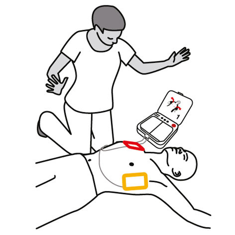 Listen to the voice prompts and do not touch the patient unless instructed to do so.