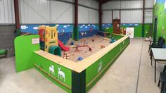 Hall Farm Park - sand area
