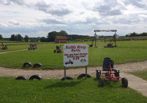 Hall Farm Park - karting