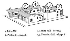 Papermill Cottages, Tealby - plan