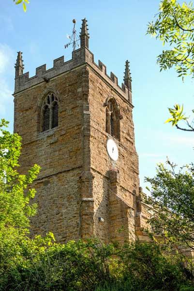 tealby church tower