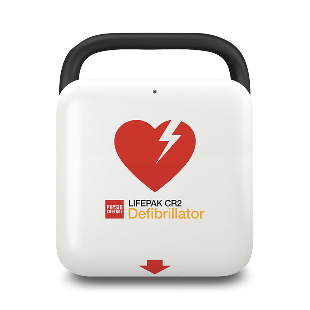 This is the defibrillator found in the cabinets around Tealby.