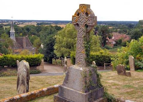 tealby church view