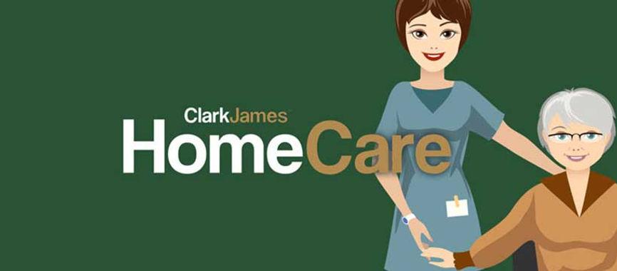 Clark James Homecare logo