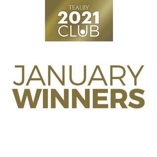 Tealby 2021 Club January Winners!