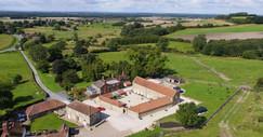 Ash Farm Barns - birds eye view