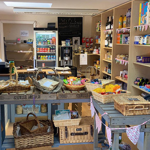 New safety procedures at Tealby Village Shop