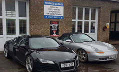 Youngs Garage, Tealby - front