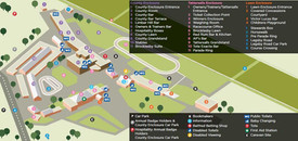 Market Rasen Racecourse - map