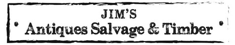 Jim's Yard, Tealby - sign