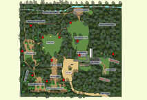 Wild Pines Park, Market Rasen - map