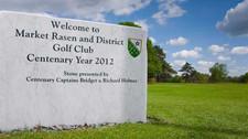 Market Rasen Golf Club - sign