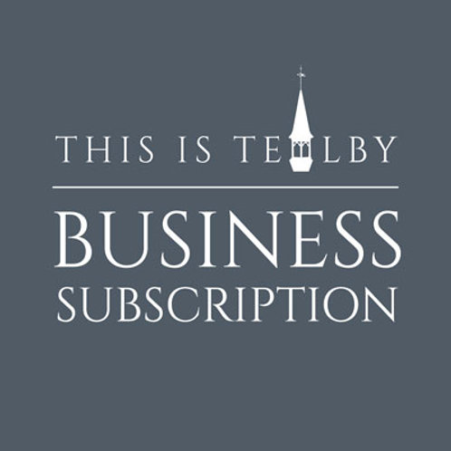 This is Tealby - Business Subscription (1 year)