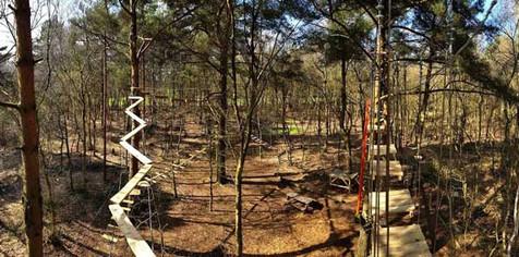 Wild Pines Park, Market Rasen - course