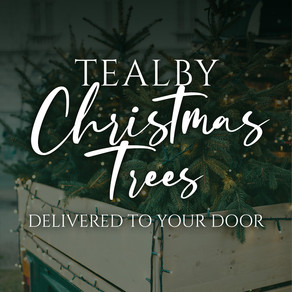 Tealby Christmas Trees - delivered to your door!