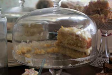 The Vintage Tearooms, Tealby - cake