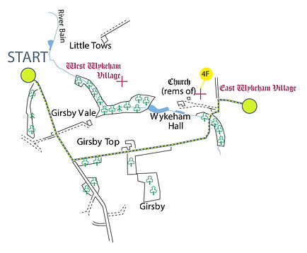 Map of The Viking Way, Section 3: Tealby to Donington-on-Bain part-3