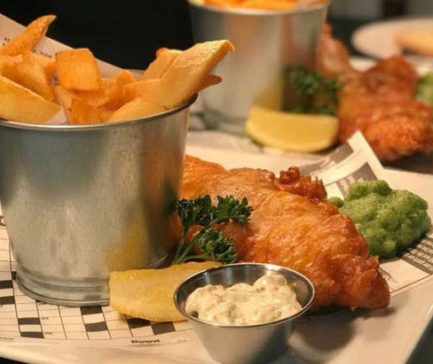 The Settlement, Caistor - fish & chips