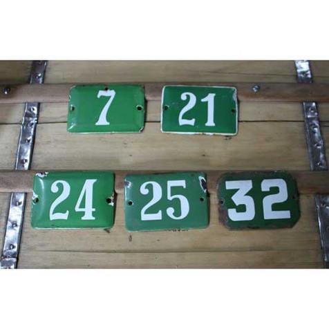 Jim's Yard, Tealby - numbers