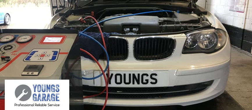 Youngs Garage logo