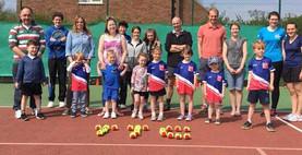 Tealby Tennis Club, Tealby - kids