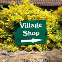 Tealby Shop, Tealby - small sign