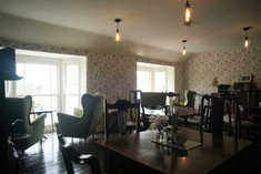 The Vintage Tearooms, Tealby - upstairs
