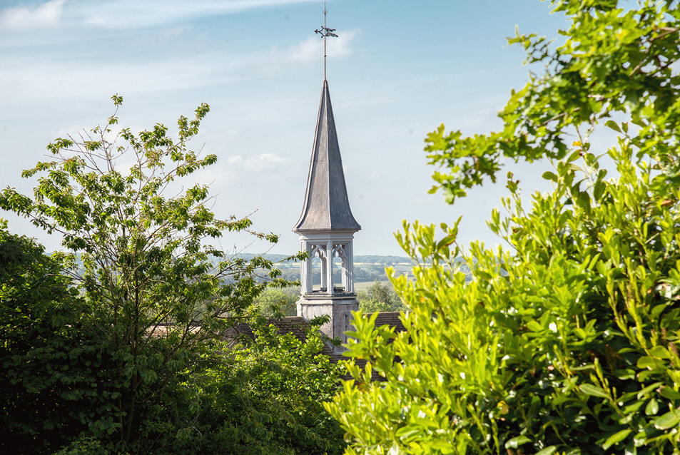 Tealby School steeple