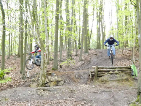 Hamilton Hill, Freeride Park - downhill