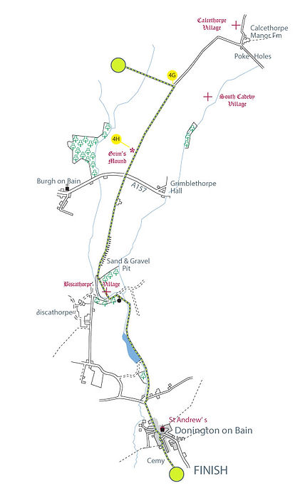 Map of The Viking Way, Section 3: Tealby to Donington-on-Bain part-4