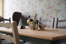 The Vintage Tearooms, Tealby - table