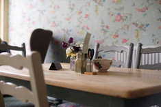 The Vintage Tearooms, Tealby - table