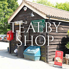 The front of Tealby Shop in Tealby