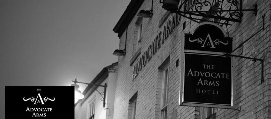 The front of The Advocate Arms, Market Rasen
