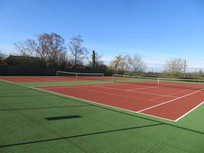 Tealby Tennis Club, Tealby - courts