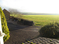 Wold View House, Tealby - misty view