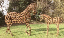 Tealby Metalcraft, Tealby - horse & foal