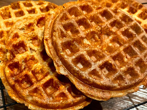 Freezer Protein Waffles