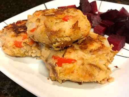 Cajun Salmon Cakes