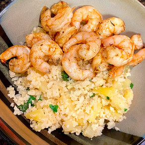 Jerk Shrimp with Pineapple Cauli Rice