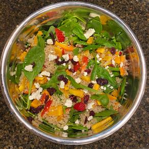 Butternut Strawberry Quinoa Salad