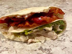 Chicken Bacon Guac Fold Wrap