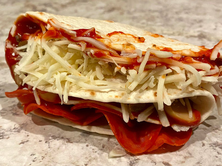 Pizza Fold Wrap