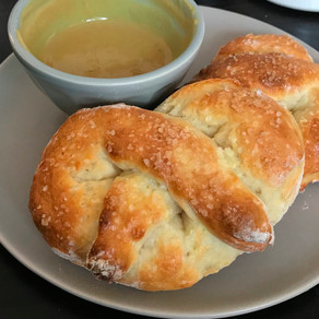 Sour Dough Soft Pretzels