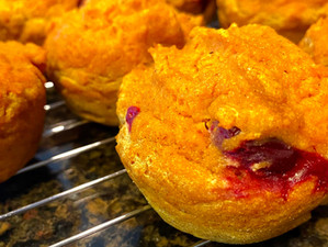 Cran-Pumpkin Muffins