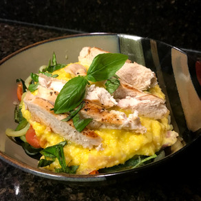Chicken and Zoodles in Sweet Corn Sauce
